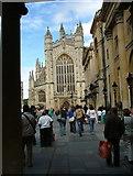 ST7564 : Bath Abbey by Peter Jemmett