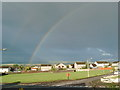 NX9875 : Rainbow over Dumfries by Darrin Antrobus