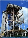 SU1484 : GWR water tower, Bristol Street, Swindon by Brian Robert Marshall