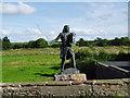 NY3259 : Statue of King Edward I by David Singleton