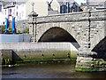 SN5881 : Aberystwyth Flood Defences by John Lucas