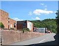 SO7038 : Entrance to Homend Trading Estate, Ledbury by Pauline E