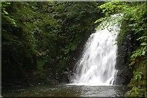 J3996 : Glenoe waterfall (19) by Albert Bridge
