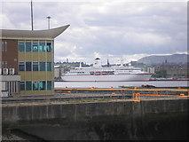NT2677 : The Deutschland in Leith Docks by Sandy Gemmill