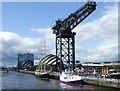 NS5765 : Finnieston Crane by Thomas Nugent