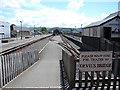 SN5881 : Vale of Rheidol Railway Terminus, Aberystwyth by John Lucas