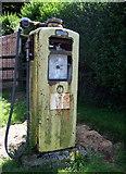 SN0729 : Old petrol pump by ceridwen