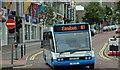 J5081 : Town service bus, Bangor by Albert Bridge