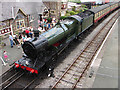 SJ1143 : Carrog Station, Llangollen Railway by John Lucas