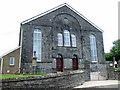 SN2232 : Double doors at Llwynyrhwrdd chapel by ceridwen