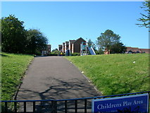 TQ7668 : Children's Play Area, Brompton by Danny P Robinson