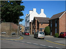 TQ7668 : Pleasant Row, Brompton by Danny P Robinson