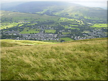 SD6592 : Sedbergh Town from Winder by Phil Catterall