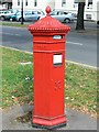 SO9422 : Penfold Victorian pillar box, Bayshill Road, Cheltenham by Brian Robert Marshall