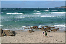 SW3526 : A September stroll at Sennen Cove by Mari Buckley