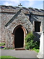 SD1096 : Porch, St Michael and All Angels Church, Muncaster by Alexander P Kapp