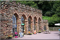 SJ5728 : Hawkstone Park entrance by S Parish