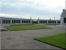 TQ7668 : Chatham Naval Memorial (Inside) by Danny P Robinson