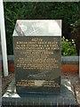 TG2813 : U.S.A.A.F. Rackheath Memorial Stone by Keith Evans