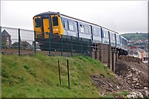 J4791 : Approaching Whitehead station by Albert Bridge