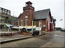 NZ3671 : Cullercoats Lifeboat Station by R J McNaughton