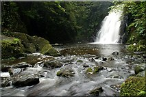 J3996 : Glenoe waterfall (20) by Albert Bridge