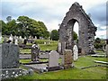 G9277 : East  wall of Donegal Friary by Kay Atherton