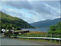 NN2904 : Arrochar Hotel and Loch Long by Nick Mutton