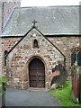 NY0736 : Porch, St Mungo's Church, Dearham by Alexander P Kapp