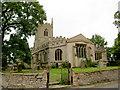 SK6994 : St. John the Baptist church Misson. by Steve  Fareham