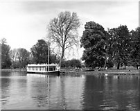 SP5105 : College Barge at Christ Church Meadow, Oxford by Dr Neil Clifton