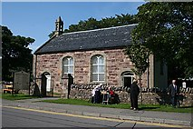 NH1294 : Ullapool Museum, Telford Church by Anne Burgess
