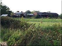 SJ3020 : Farm buildings at Pentre perfa by John Haynes