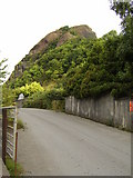 NS4274 : Access road to Dumbuck Quarry by Stephen Sweeney