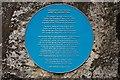 J3197 : Houston family plaque, Ballyboley forest by Albert Bridge