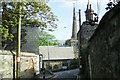 SW7250 : St Agnes Parish Church from Trevaunance Road by Niki Walton