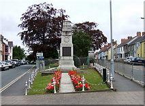 SN1846 : First World war memorial by ceridwen