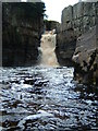 NY8828 : High Force Waterfall by David Fiddes