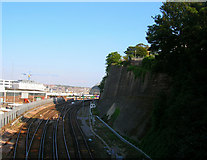 TQ3005 : Approaching Brighton Station by Simon Carey
