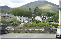 SH5848 : Porthmadog Road from Glaslyn Ices by Eric Jones