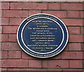 SO9198 : Sir Rowland Hill plaque, Old Central Post Office, Wolverhampton by Shenk and Trish