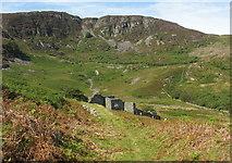 SH7123 : Approaching the Cefn Coch Mine Mills by Eric Jones