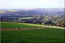 SN1839 : Aberteifi over the fields by ceridwen