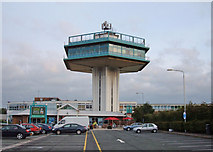 SD5052 : Forton Services, M6 by michael ely