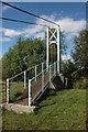 SO0592 : Festival Bridge, near Aberhafesp by Philip Halling