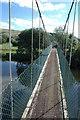 SO0592 : On Festival Bridge, near Aberhafesp by Philip Halling