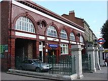 TQ2785 : Belsize Park tube station by Oxyman