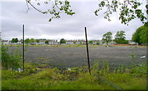 NS4865 : Disused land south of Glasgow Airport by Mark Nightingale