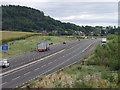 SJ3720 : A5 south, the Nesscliffe by-pass by John Haynes