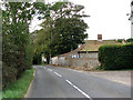 TG2933 : Knapton Road (B1145) past The Mews and Straithern Farm by Evelyn Simak